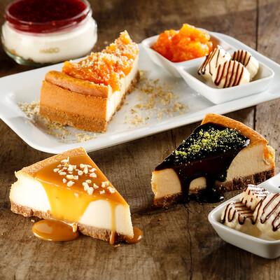 Frambuaz Soslu Cheesecake (Dilim)