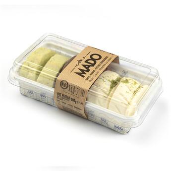 MADO Sade-Fıstıklı-Kakaolu Kesme Dondurma (500gr) - Thumbnail