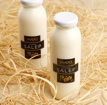 MADO - Pastörize Salep (250 ml, Cam Şişe)